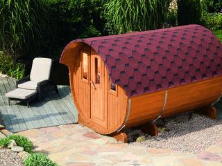 Gartenhaus2000 GmbH Spa phong cách Bắc Âu Gỗ