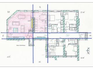 FENGSHUI d'un appartement en rénovation Myriem de Poncins Murs & Sols modernes