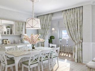 1+1 studio Classic style living room White