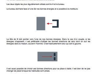 le positionnement des meubles Myriem de Poncins Bureau moderne