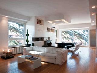 villa torlonia style SERENA ROMANO' ARCHITETTO Soggiorno moderno