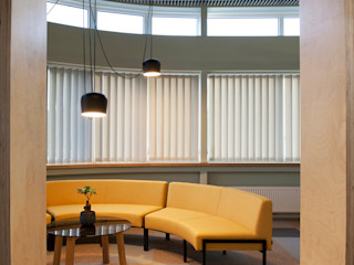 M.K. INTERNATIONAL OFFICE Heut Architects Офисные помещения в скандинавском стиле