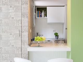 Maurizio Giovannoni Studio Minimalistische Küchen Grün