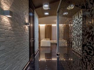 ARTteam 工業風的玄關、走廊與階梯