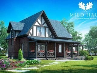 Mild Haus Casas de estilo clásico Ladrillos Multicolor