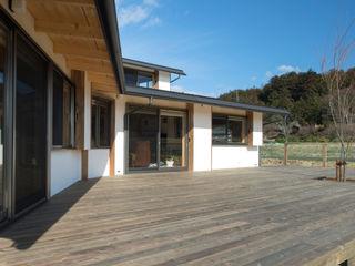 大森建築設計室 Patios & Decks Wood