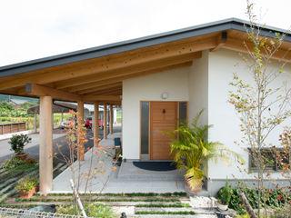 大森建築設計室 Eclectic style houses Wood