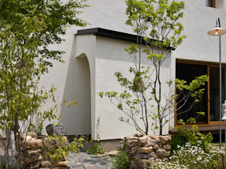 大森建築設計室 Eclectic style houses White