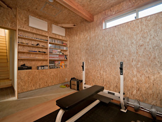 大森建築設計室 Eclectic style gym