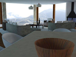 Trianaarquitectos Modern living room
