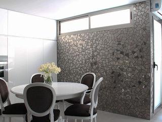 Trencadis Innovacion SL Cocinas de estilo minimalista Cerámico Negro