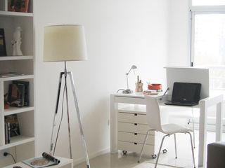 MinBai StudioScrivanie Legno Bianco