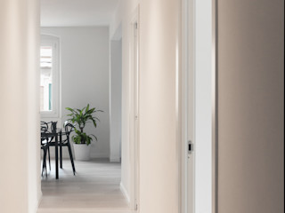 UNO8A Couloir, entrée, escaliers modernes