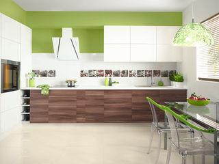 Ceramika Paradyż Eclectic style kitchen