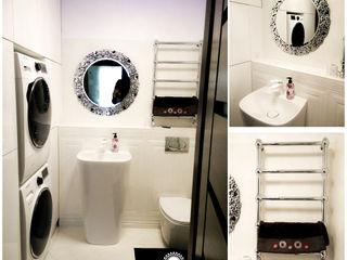 EnDecoration Moderne badkamers Keramiek Wit