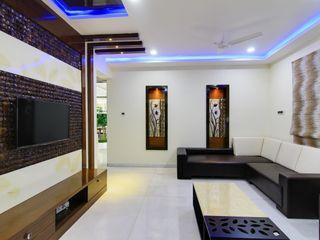 KREATIVE HOUSE Living roomAccessories & decoration Kayu Buatan Beige