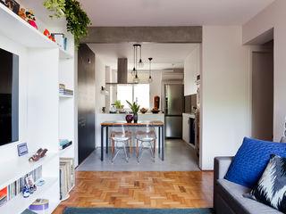 Sala e Cozinha INÁ Arquitetura Cozinhas ecléticas