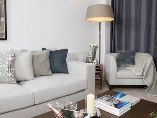 The Malvern- contemporary family home Katie Malik Interiors Modern living room