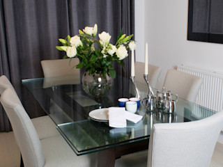The Malvern- contemporary family home Katie Malik Interiors Modern dining room
