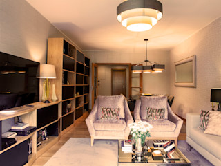 Apartamento Cosmopolita Spacemakers Salas de estar modernas