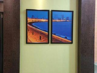 Alaya D'decor Ruang Studi/Kantor Modern Kayu Lapis Green