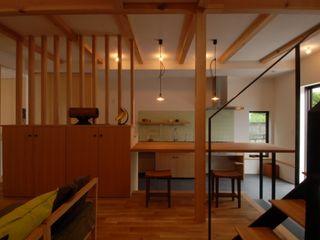 株式会社TERRAデザイン Living room Wood Wood effect
