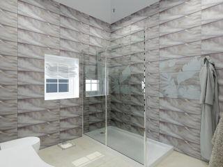 Андреева Валентина Classic style bathroom Tiles