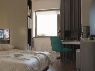 Shevchenko_Nikolay Dormitorios de estilo minimalista