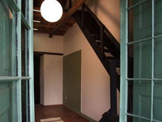 Remodelacíon Oficina con Altillo SDHR Arquitectura Oficinas y Tiendas Madera Verde