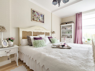 DreamHouse.info.pl Eclectic style bedroom