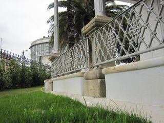 Restauración de Villa Concepción en Cambre Ezcurra e Ouzande arquitectura Jardines de estilo ecléctico