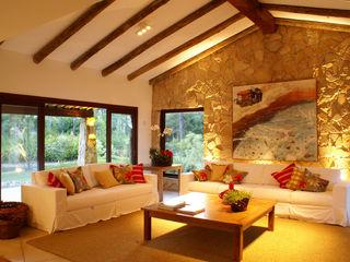 BRAESCHER FOTOGRAFIA Rustic style living room
