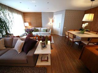 MeyerCortez arquitetura & design Moderne Wohnzimmer