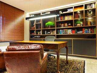 Joana & Manoela Arquitetura Modern Study Room and Home Office