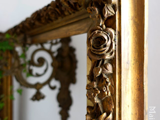 Maisondora Vintage Living WoonkamerAccessoires & decoratie Hout Amber / Goud