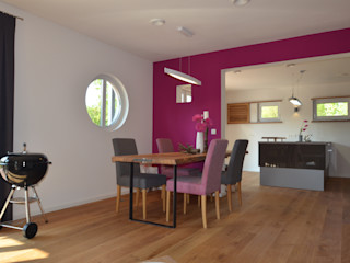 Skapetze Lichtmacher Eclectic style dining room