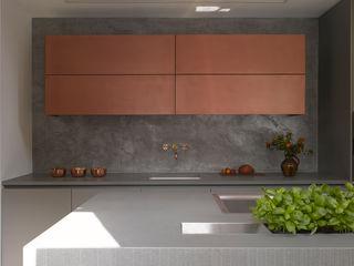 Roundhouse metallic finishes Roundhouse KitchenCabinets & shelves Metallic/Silver