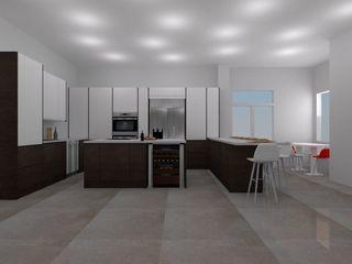 Diseño ArceCocinas ARCE FLORIDA Cocinas de estilo moderno Madera Acabado en madera