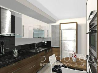 DECOZOOM INTERIOR DESIGN KitchenCabinets & shelves Kayu Wood effect