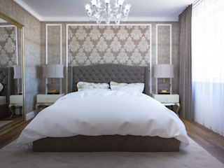 Insight Vision GmbH Classic style bedroom Brown
