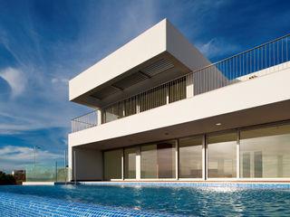 MOM - Atelier de Arquitectura e Design, Lda Piscinas modernas