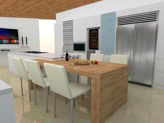 Cocina ARCE FLORIDA Cocinas de estilo moderno Madera Acabado en madera