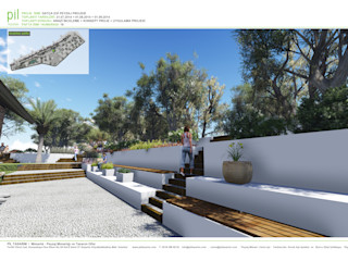 Pil Tasarım Mimarlik + Peyzaj Mimarligi + Ic Mimarlik Jardins mediterrâneos Madeira Branco
