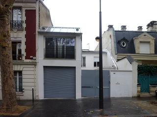 Olivier Stadler Architecte Modern houses White