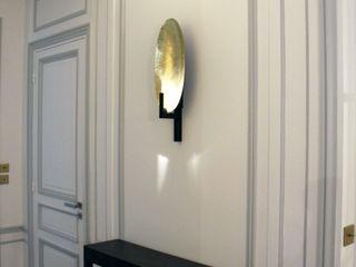 Olivier Stadler Architecte Classic style corridor, hallway and stairs