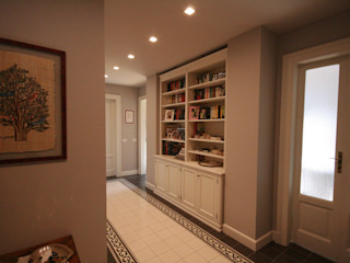 studiodonizelli Modern corridor, hallway & stairs