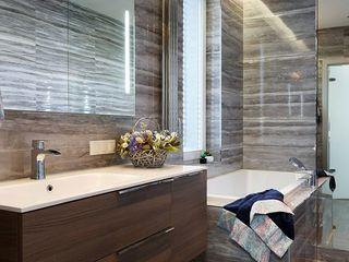 Ольга Кулекина - New Interior Scandinavian style bathroom