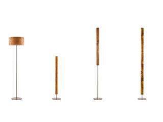 Stehleuchten raum12 ArbeitszimmerBeleuchtungen Bernstein/Gold