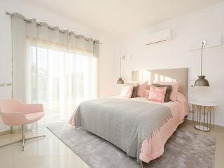 Private Interior Design Project - Vilamoura Simple Taste Interiors BedroomBeds & headboards