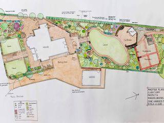 North Wales hillside garden Jane Harries Garden Designs